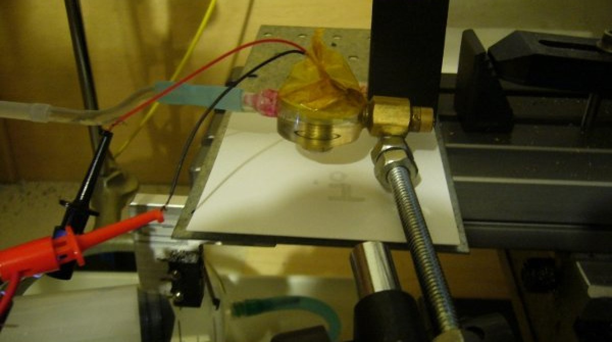 Printing in sugar with a DIY inkjet print head   Make: