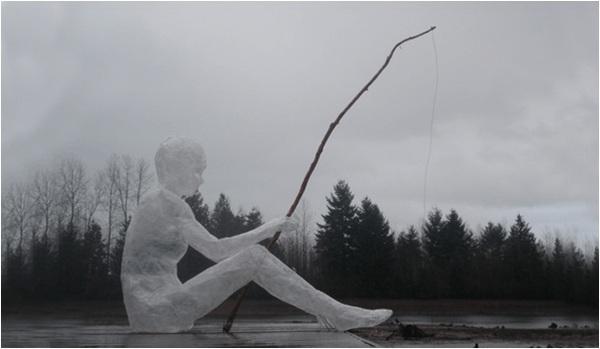 Tape sculpture contest