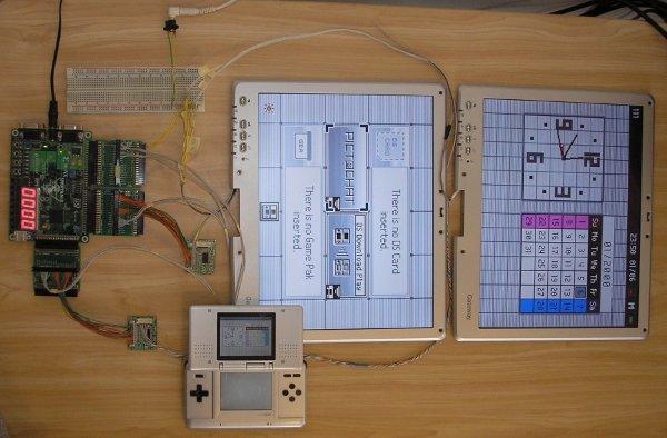 Homebrew Jumbotron display for Nintendo DS