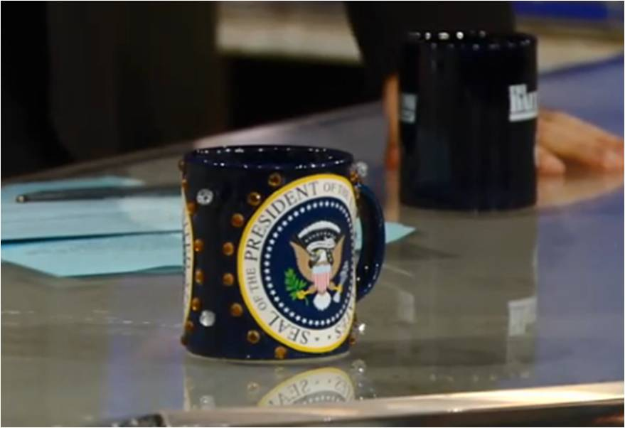 """""""The Daily Show's"""" Crafty Mug Force 1"""