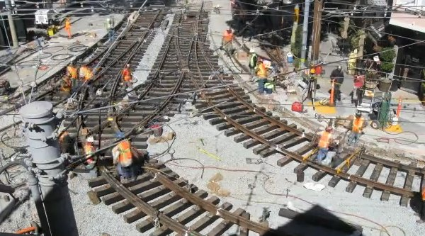 How-To: Replace street car tracks