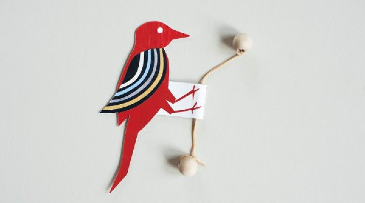 Art Line Underdamped : How to papercraft oscillating woodpecker toy make
