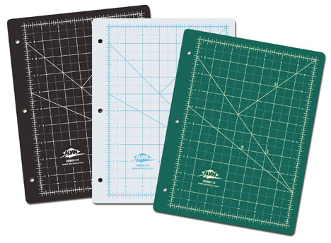 What are self-healing cutting mats made from?