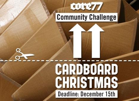 Core77's Cardboard Christmas