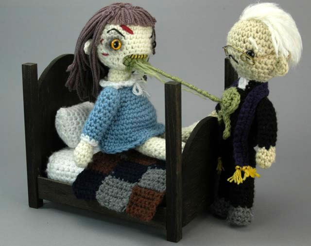 How-To: Crochet Amigurumi Exorcist Playset