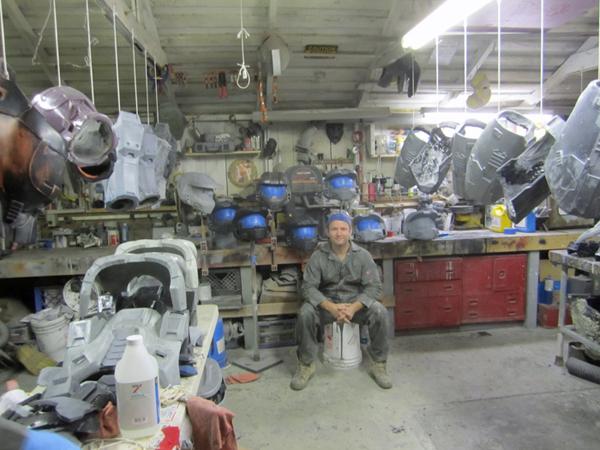 Shawn Thorsson's insane Halo costumes