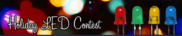 Parallax Holiday LED contest