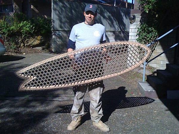 Cardboard surfboard on Thingiverse