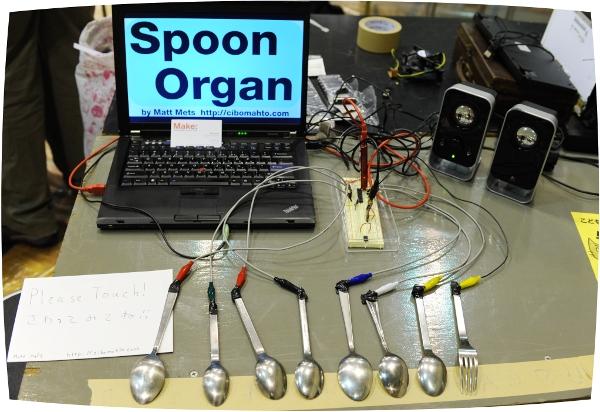 Spoon organ!