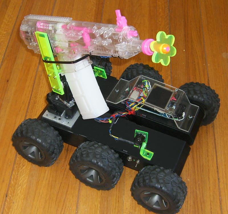 Autonomous armed cellbot sentry