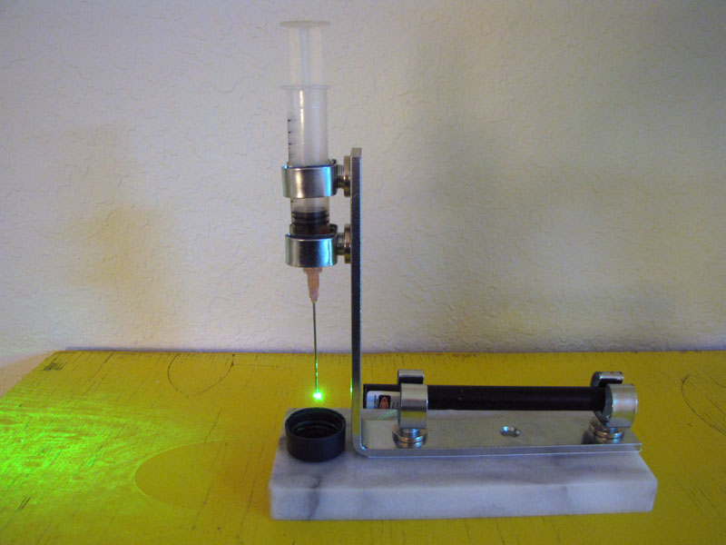 Make: Projects – Laser projection microscope