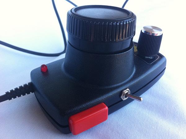 Atari paddle synth