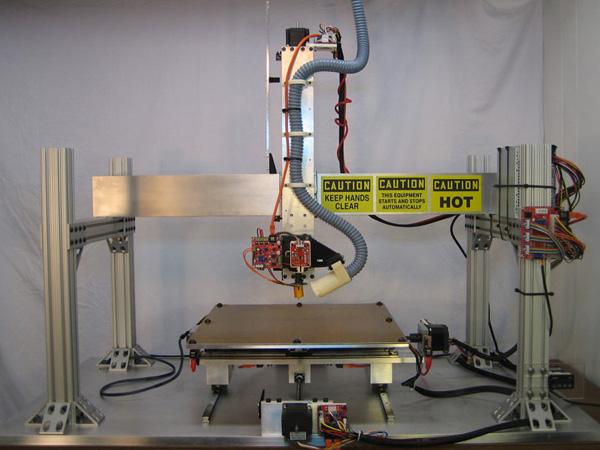 Giant RepRap-based 3D printer
