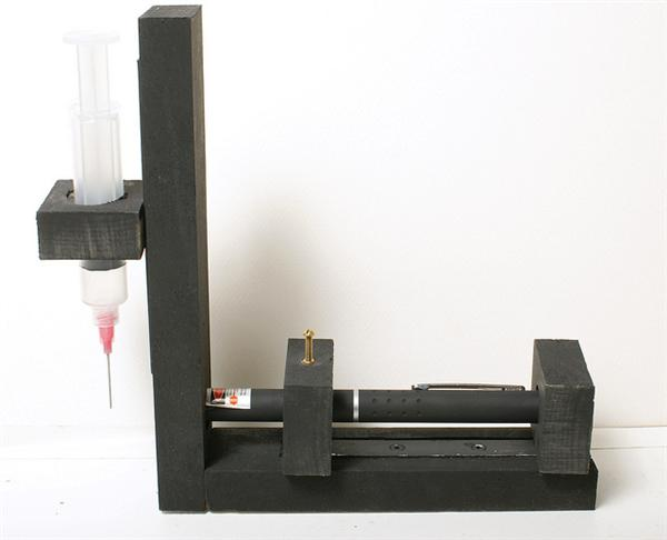 Rob's laser microscope build