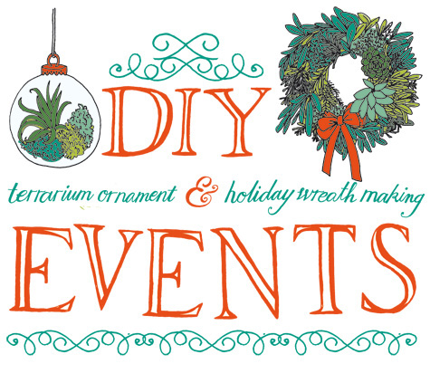 DIY Wreath & Terrarium Classes This Weekend in Brooklyn