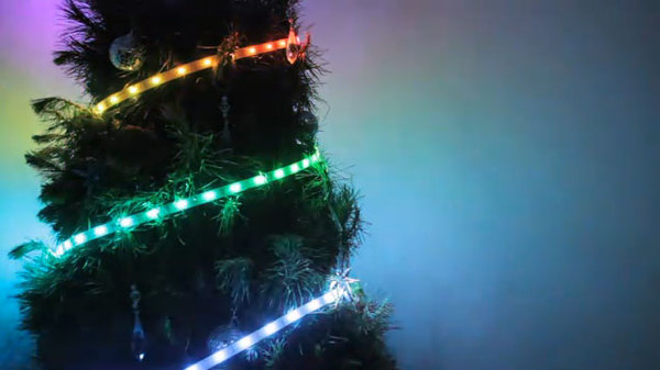 Android controlled RGB rope lights