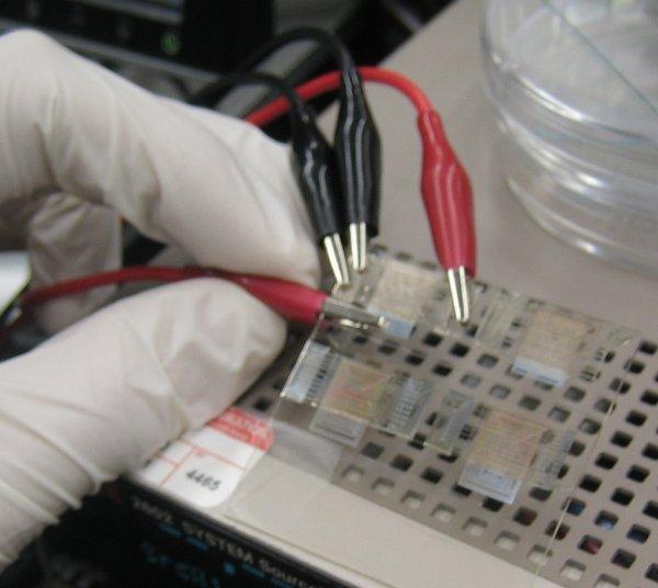 Printing transistors using a 3D printer