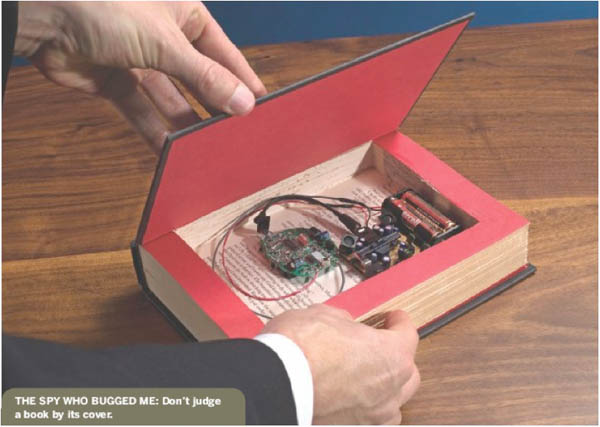 """""""Bug-in-a-Book"""" project at the Spy Museum"""