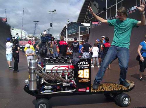 Tony Hawk's V8 Skateboard packs 630 horsepower