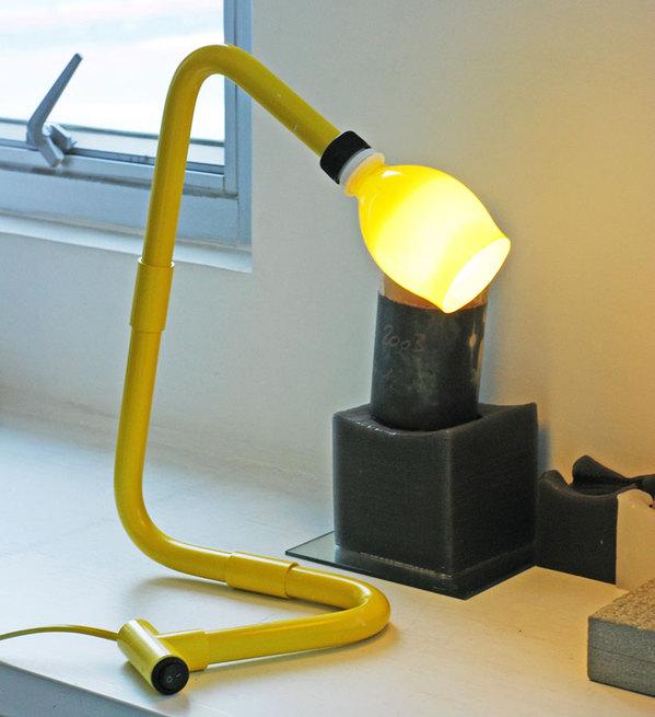 Beautiful lamps from scrap PVC pipe, soda bottles