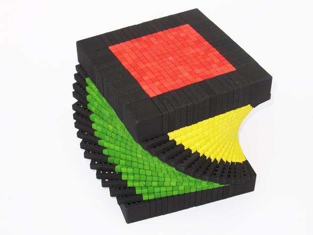 Record breaking 17x17x17 rubiks cube