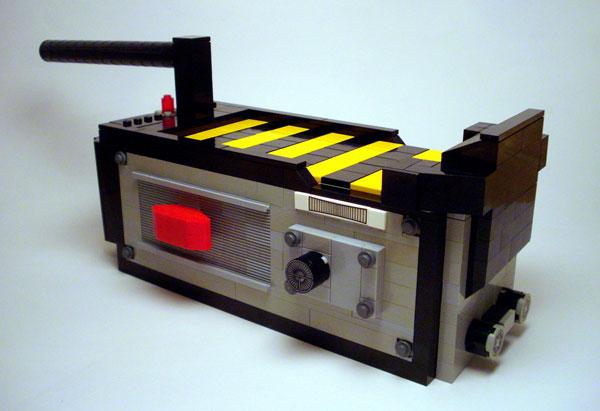 Lego ghost trap replica