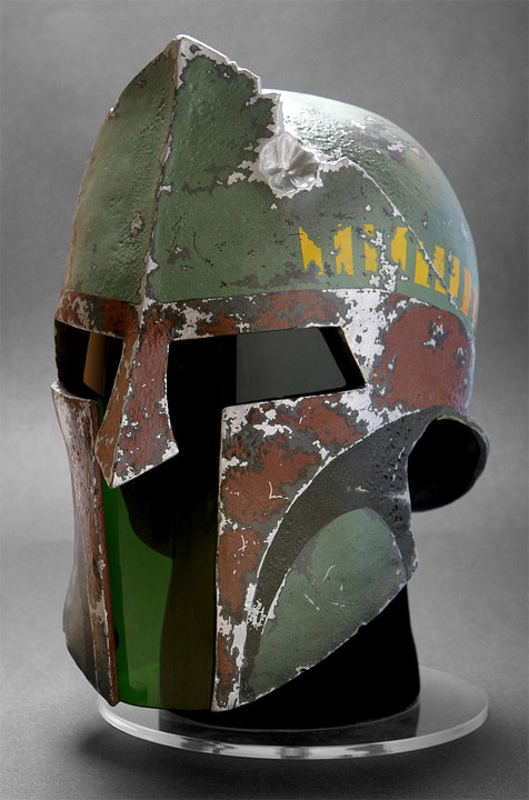 Boba Fett imagined as a Spartan