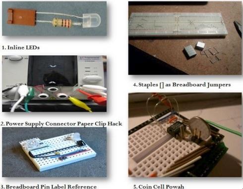 Five expedient breadboard prototyping tricks
