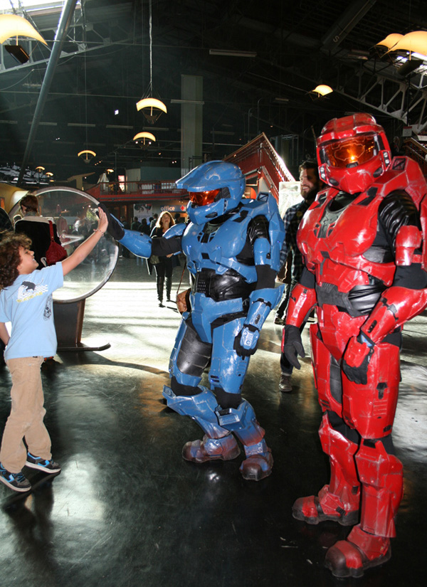 Halo costumes at Open MAKE event