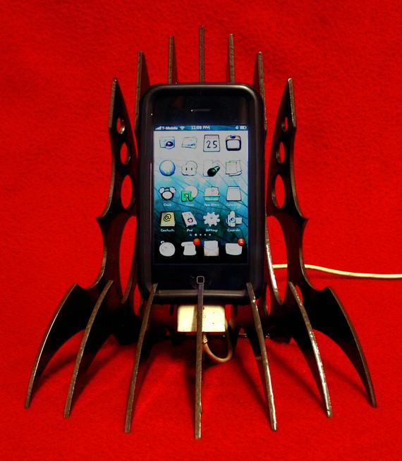 Klingon iPhone stand