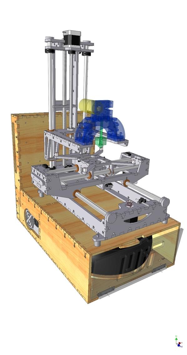 Make-A-Bot, a MakerBot remixed