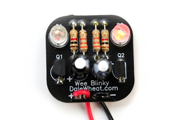 In the Maker Shed: Wee Blinky kit