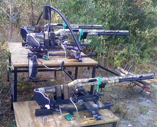 Web-controlled shotguns combat feral hog infestation?