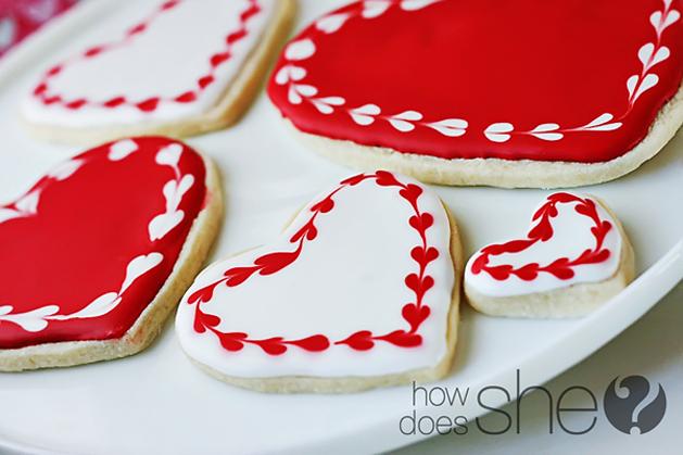 Valentine's Sugar Cookies: Rated G, PG, & PG-13