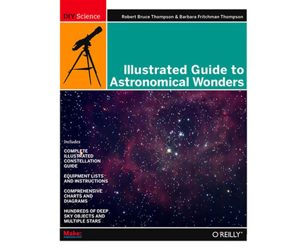 In the Maker Shed: Illustrated Guide to Astronomical Wonders