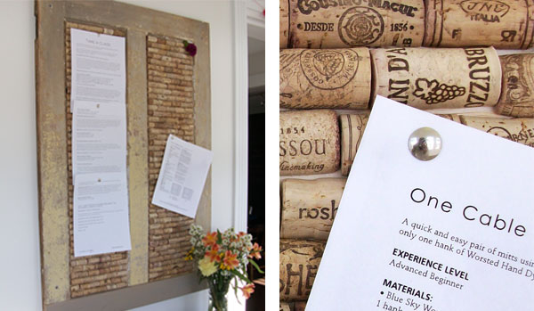 Upcycle Wine Corks into a Bulletin Board