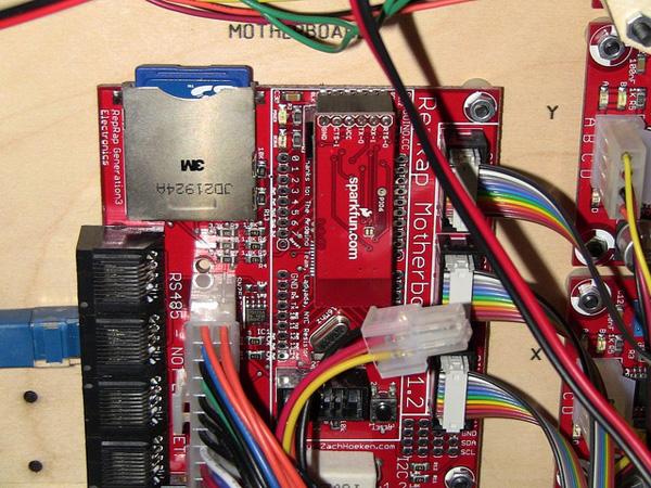 Adding Bluetooth to a MakerBot CNC