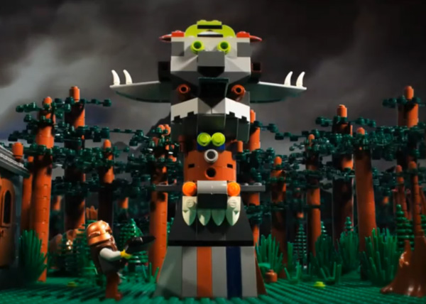 Build! A stop-motion Lego flick