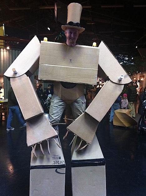 Attack of the Cardboard Robo-Nauts!