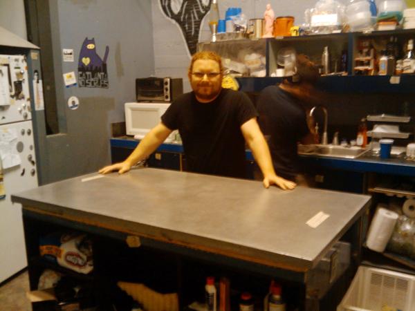 Pour-Your-Own Concrete Tabletops
