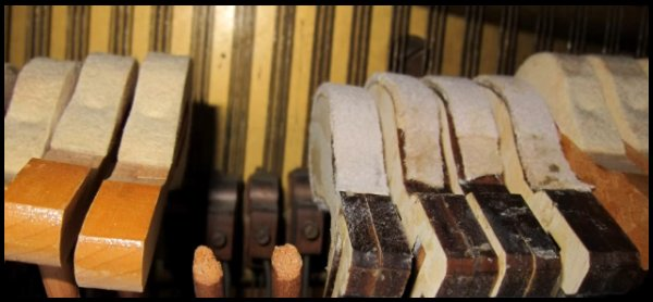 Repair an Old Piano by Making DIY Hammers