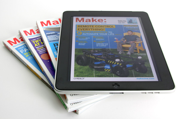 Maker Shed's Follow, Tweet, & (Maybe) Win an iPad Contest