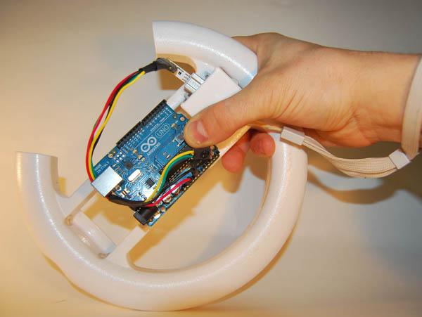 Hack the WM+ to Talk to Arduino