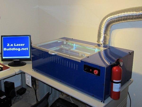 Open Source Lasercutter Reaches Version 2