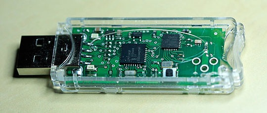 Clear Snap-Together USB Project Enclosures