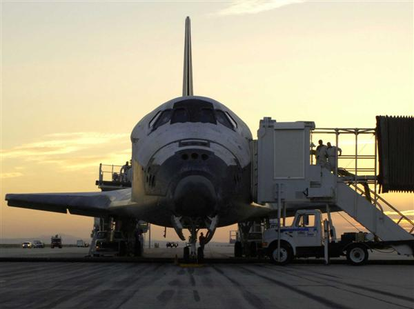 Pssst.  Hey, Buddy, Wanna Buy a Space Shuttle?