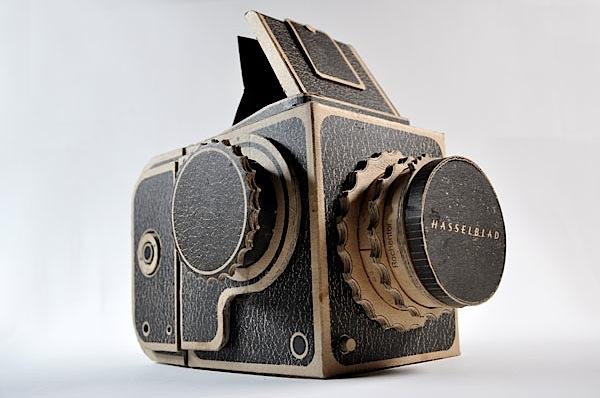 DIY Cardboard Hasselblad Pinhole Camera