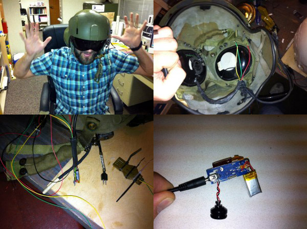 Mil-Surplus Heli Helmet Game Headset Probably Cooler Than Yours