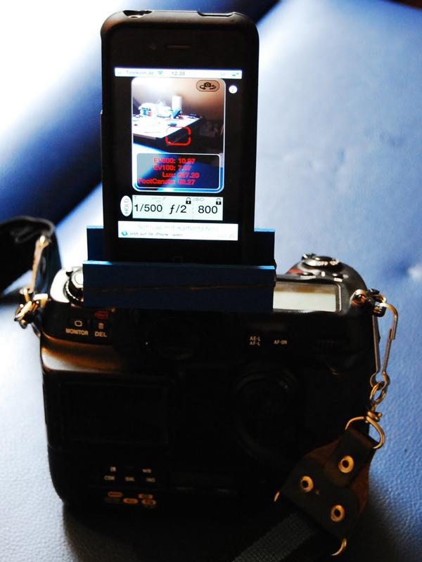 Camera Hotshoe iPhone Mount