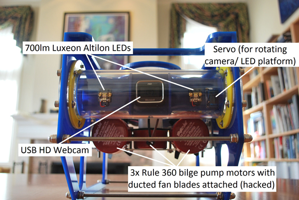 Search for buried treasure with your very own OpenROV (Remotely Operated Vehicle)